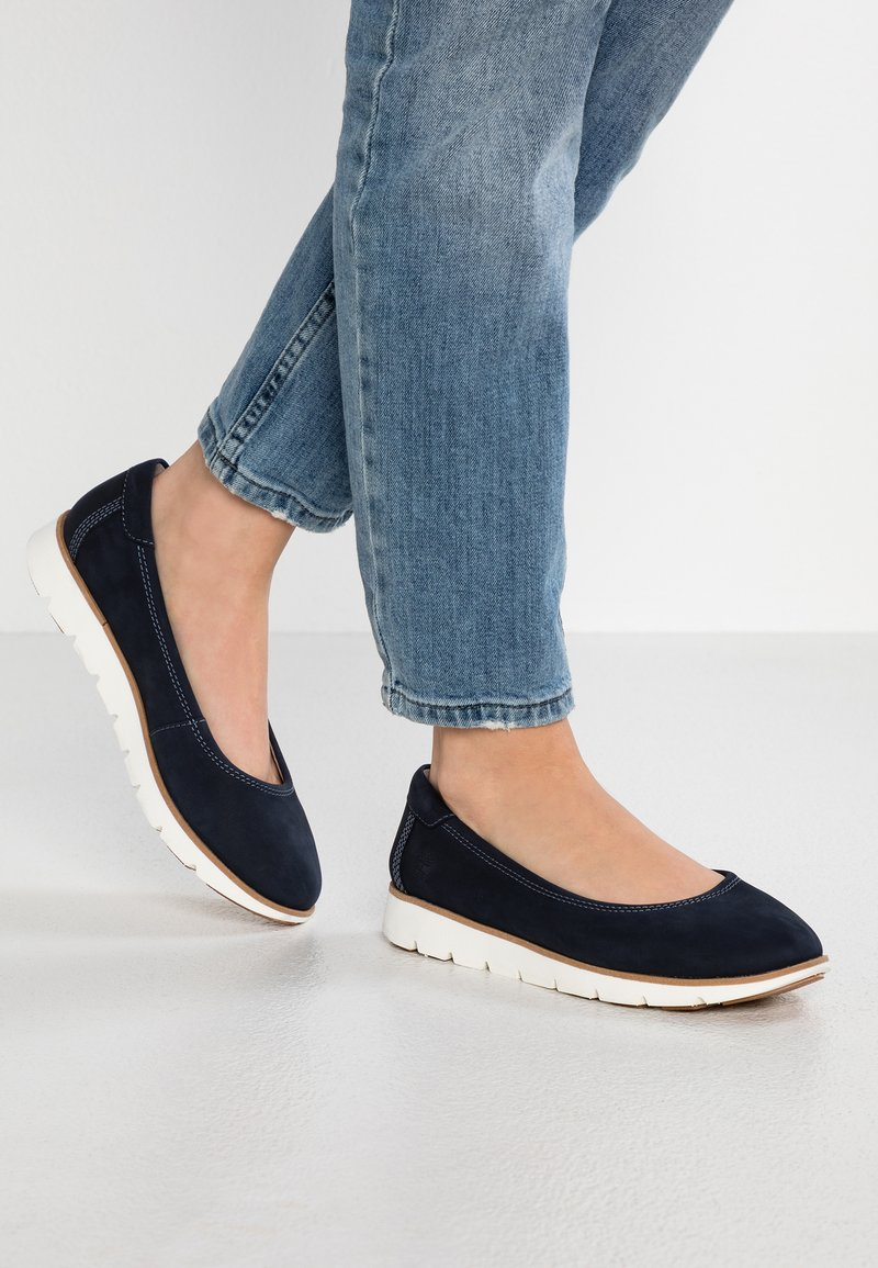 Timberland - FLORENCE AIR - Ballet pumps - dark blue