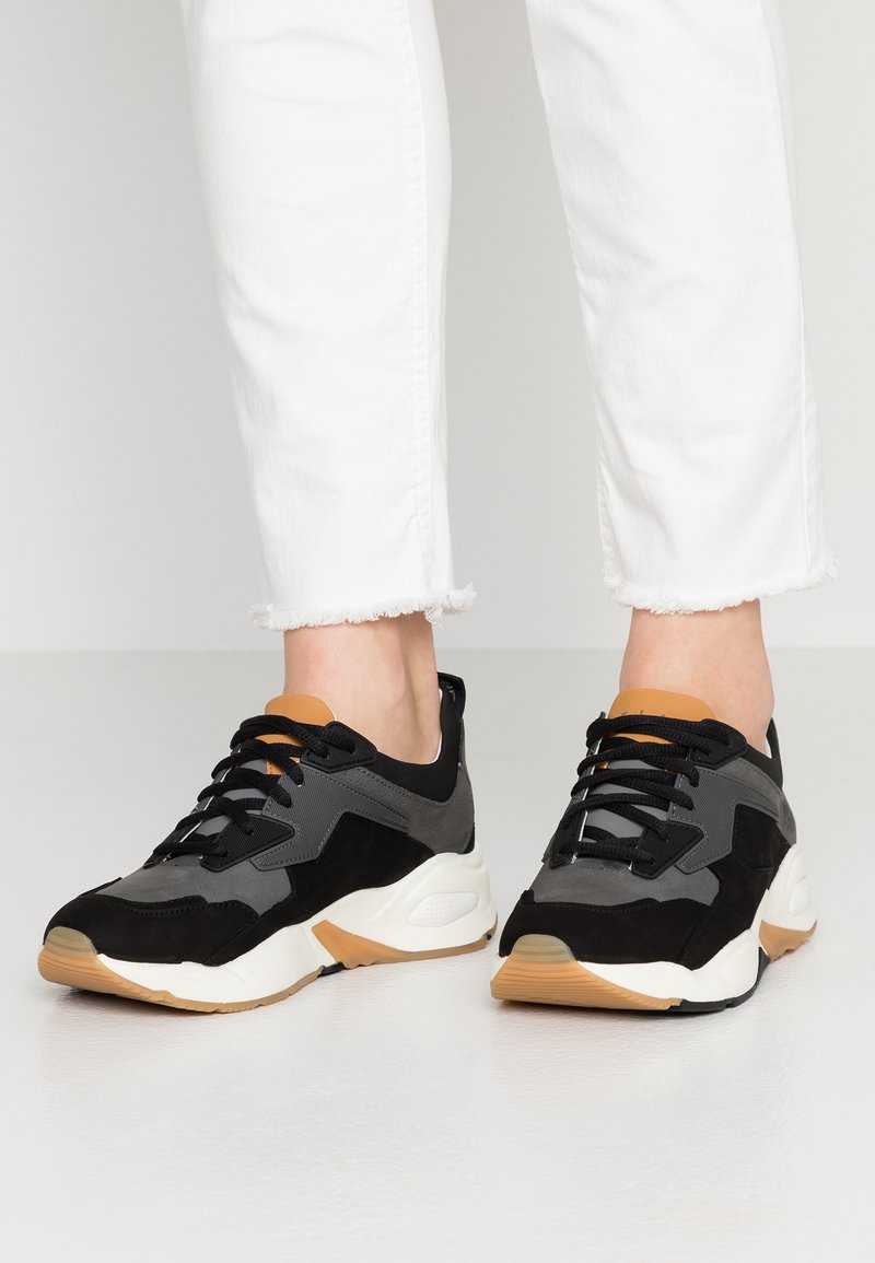 Timberland - DELPHIVILLE - Sneaker low - black