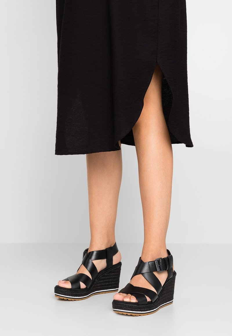 Timberland - NICE COAST ANKLE STRAP - High Heel Sandalette - black