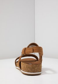 Timberland - MALIBU WAVES 2BAND - Sandals - rust - 8