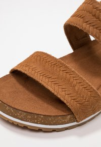 Timberland - MALIBU WAVES 2BAND - Sandals - rust - 3