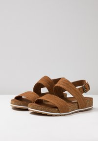 Timberland - MALIBU WAVES 2BAND - Sandals - rust - 7