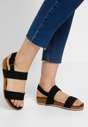 MALIBU WAVES 2BAND - Sandals - black