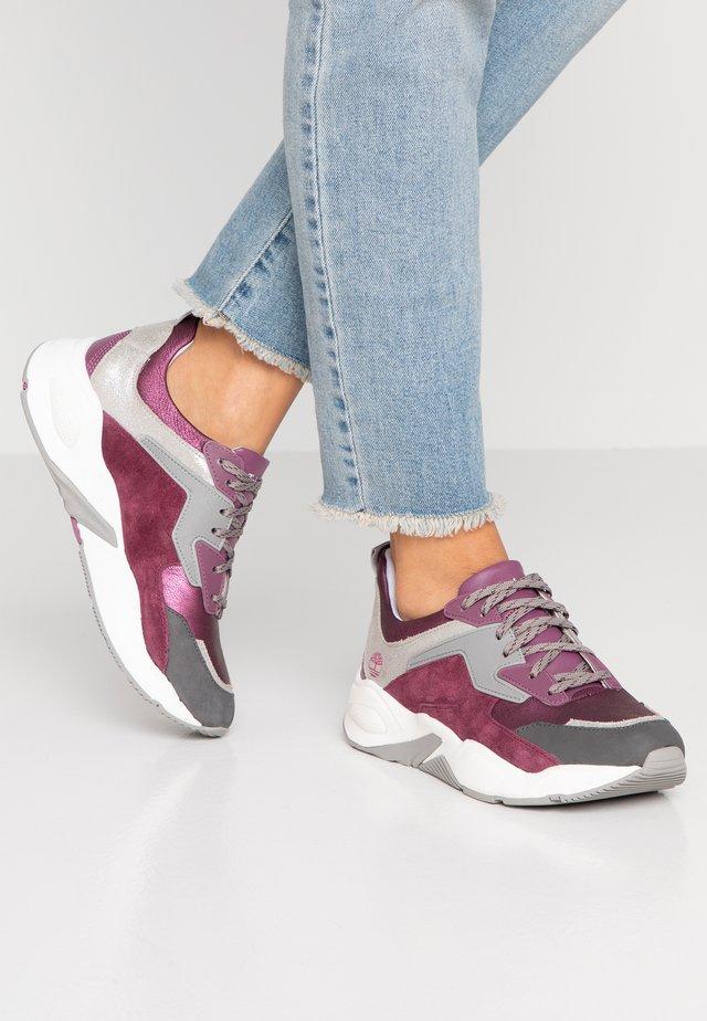 DELPHIVILLE - Tenisky - dark purple metallic