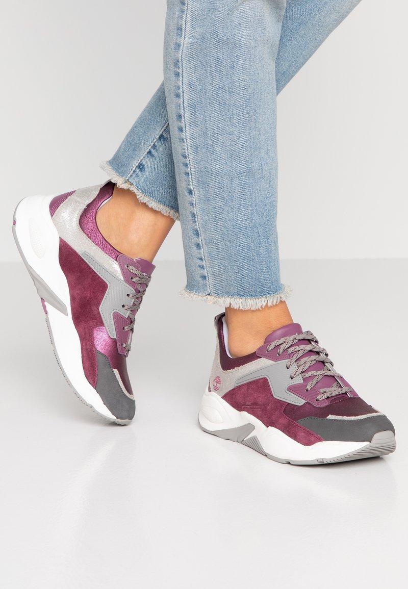 Timberland - DELPHIVILLE - Trainers - dark purple metallic