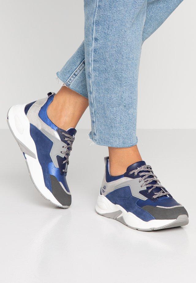 DELPHIVILLE - Sneaker low - dark blue metallic