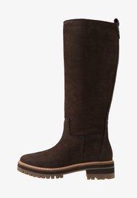 Timberland - COURMAYEUR VALLEY TALL - Laarzen - dark brown - 1