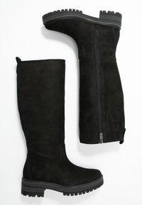 Timberland - COURMAYEUR VALLEY TALL - Støvler - black - 3