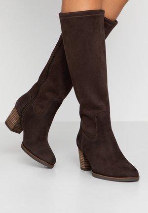 ELEONOR STREET TALL - Støvler - dark brown