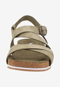 Timberland - Plateausandalette - olive - 5