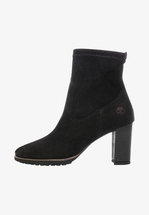 LESLIE ANNE STRETCH  - High heeled ankle boots - black