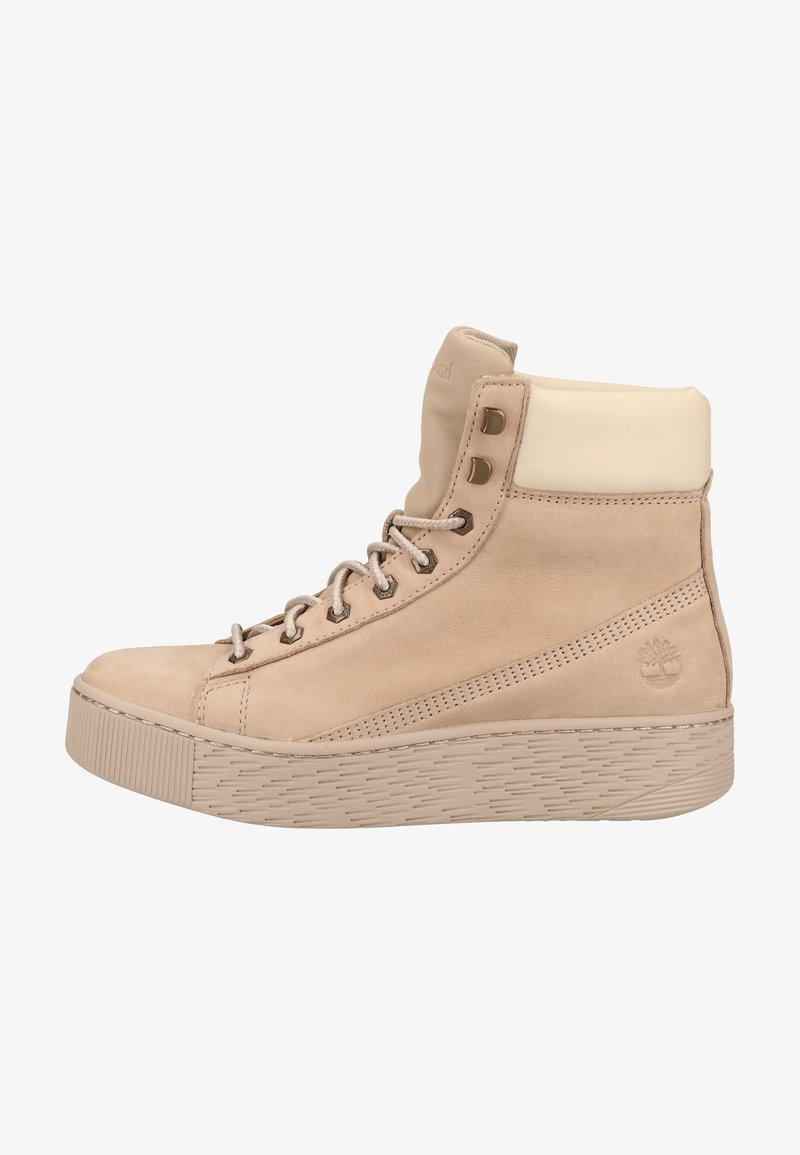 Timberland - Platform ankle boots - beige