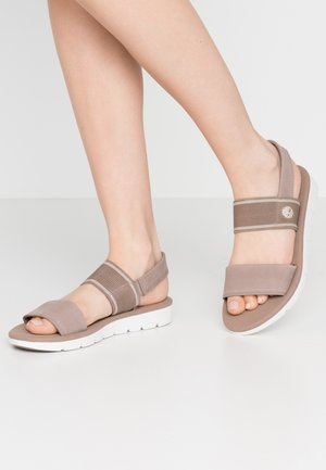 LOTTIE LOU 2 BAND - Sandals - taupe