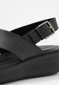 Timberland - LOS ANGELES WIND SLINGBAC - Plateausandalette - black - 2