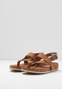 Timberland - MALIBU WAVES THONG - Tongs - rust - 4