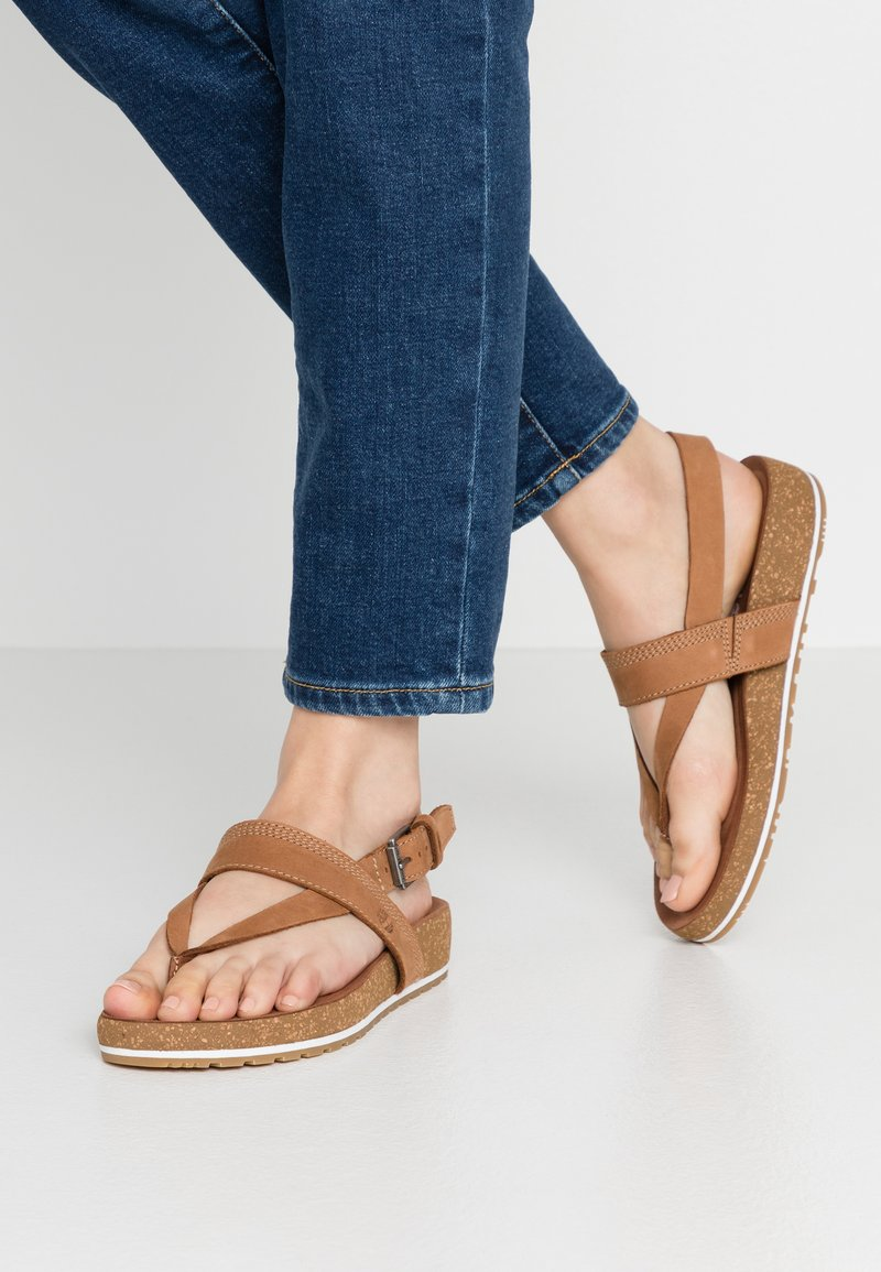 Timberland - MALIBU WAVES THONG - Tongs - rust