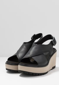 Timberland - KORALYN CROSS BAND - High heeled sandals - black - 2
