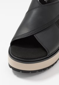 Timberland - KORALYN CROSS BAND - High heeled sandals - black - 5