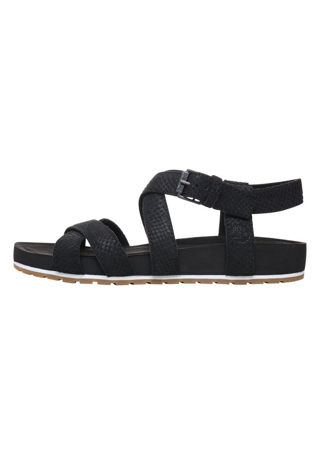 MALIBU WAVES ANKLE - Riemensandalette - black