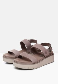 Timberland - SAFARI DAWN 2BAND - Plateausandalette - taupe brown - 2