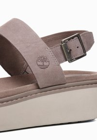 Timberland - SAFARI DAWN 2BAND - Plateausandalette - taupe brown - 5