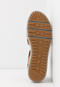 Timberland - SAFARI DAWN - Platform sandals - rust - 4