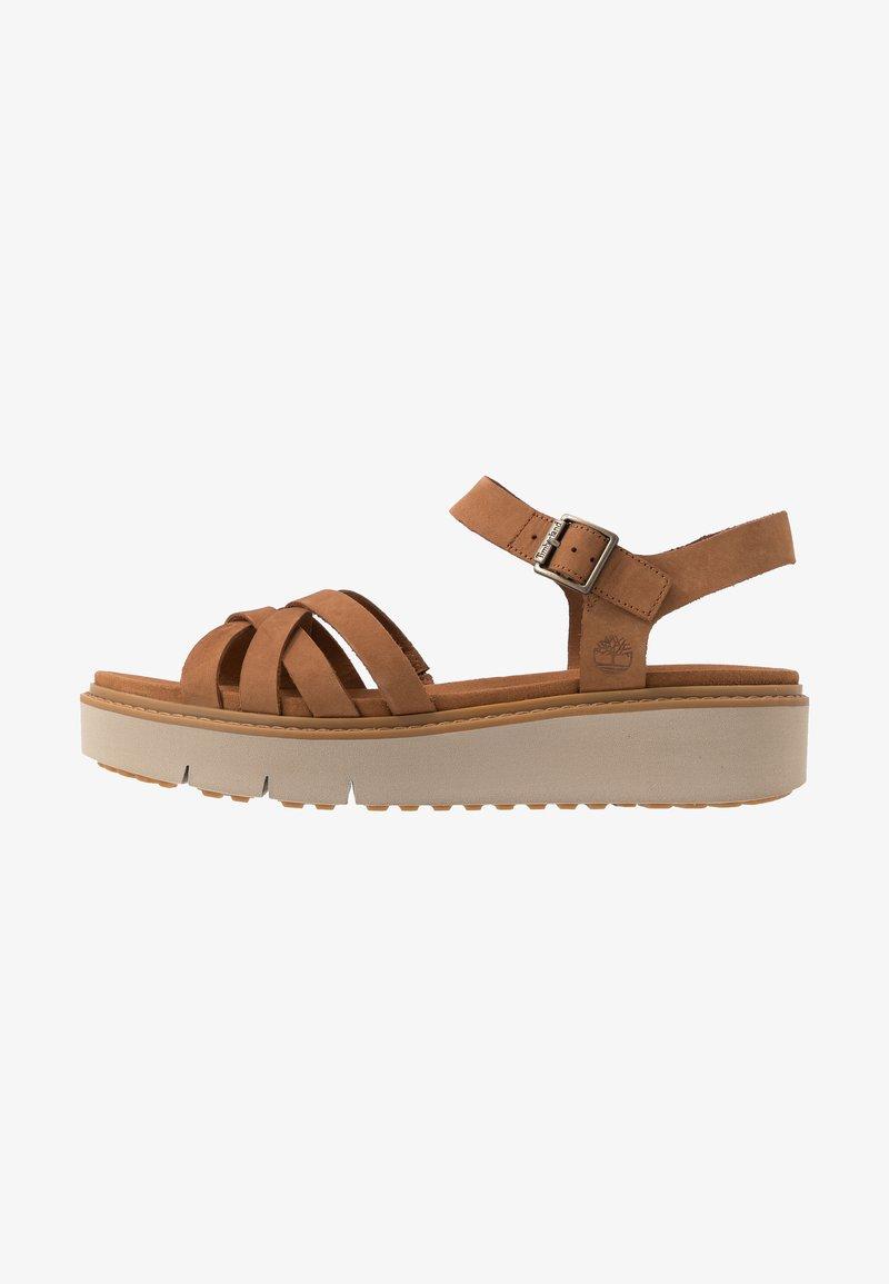 Timberland - SAFARI DAWN - Platform sandals - rust