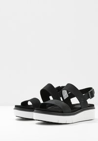 Timberland - SAFARI DAWN  - Platform sandals - black - 4
