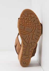 Timberland - CAPRI SUNSET WEDGE - Sandales à plateforme - rust - 6