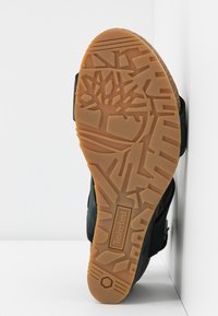 Timberland - CAPRI SUNSET WEDGE - Platform sandals - black - 6