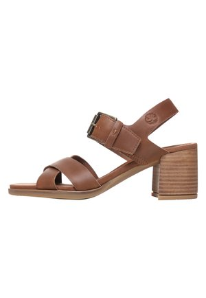 TALLULAH MAY CROSS BAND - Sandals - saddle