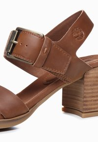 Timberland - TALLULAH MAY CROSS BAND - Sandals - saddle - 5
