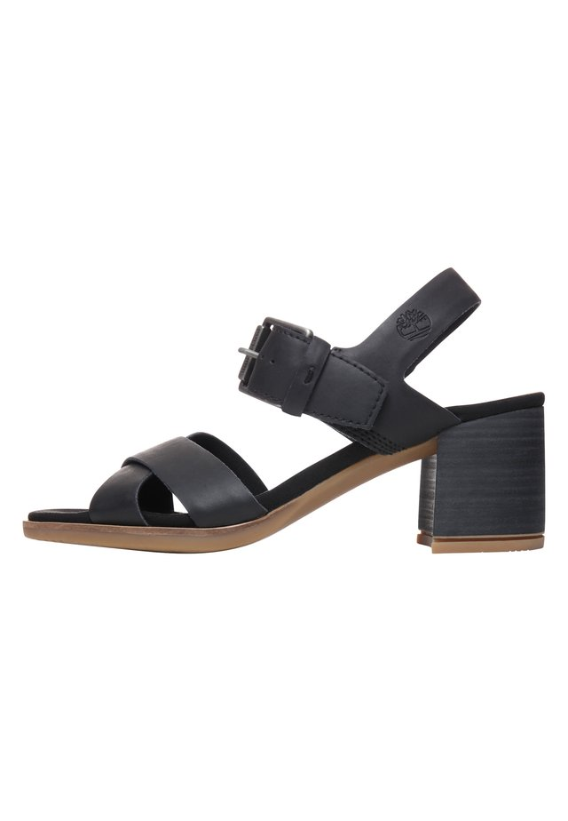TALLULAH MAY CROSS BAND - Sandales - jet black