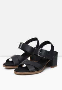 Timberland - TALLULAH MAY CROSS BAND - Riemensandalette - jet black - 4