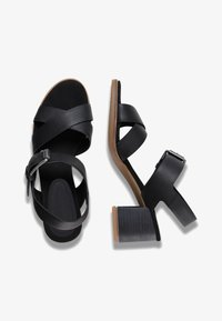 Timberland - TALLULAH MAY CROSS BAND - Riemensandalette - jet black - 1