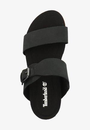 TIMBERLAND PANTOLETTEN - Pantolette flach - black