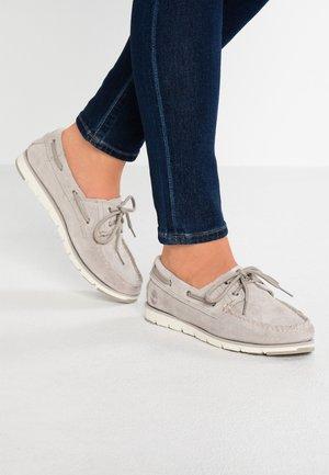CAMDEN FALLS BOAT - Chaussures bateau - light beige