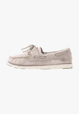 CAMDEN FALLS BOAT - Boat shoes - light beige