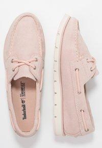 Timberland - CAMDEN FALLS BOAT - Chaussures bateau - light pink - 3