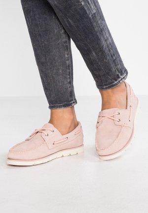 CAMDEN FALLS BOAT - Chaussures bateau - light pink