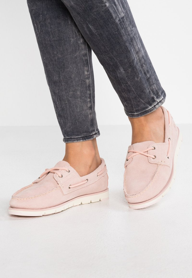 Timberland - CAMDEN FALLS BOAT - Boat shoes - light pink