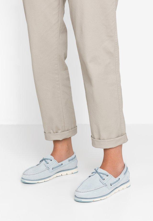 CAMDEN FALLS BOAT - Bootsschuh - light blue