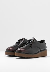 Timberland - BELL LANE DERBY - Lace-ups - dark red - 4
