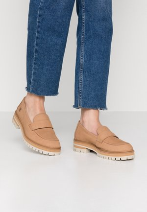 LONDON SQUARE - Mocassins - light brown