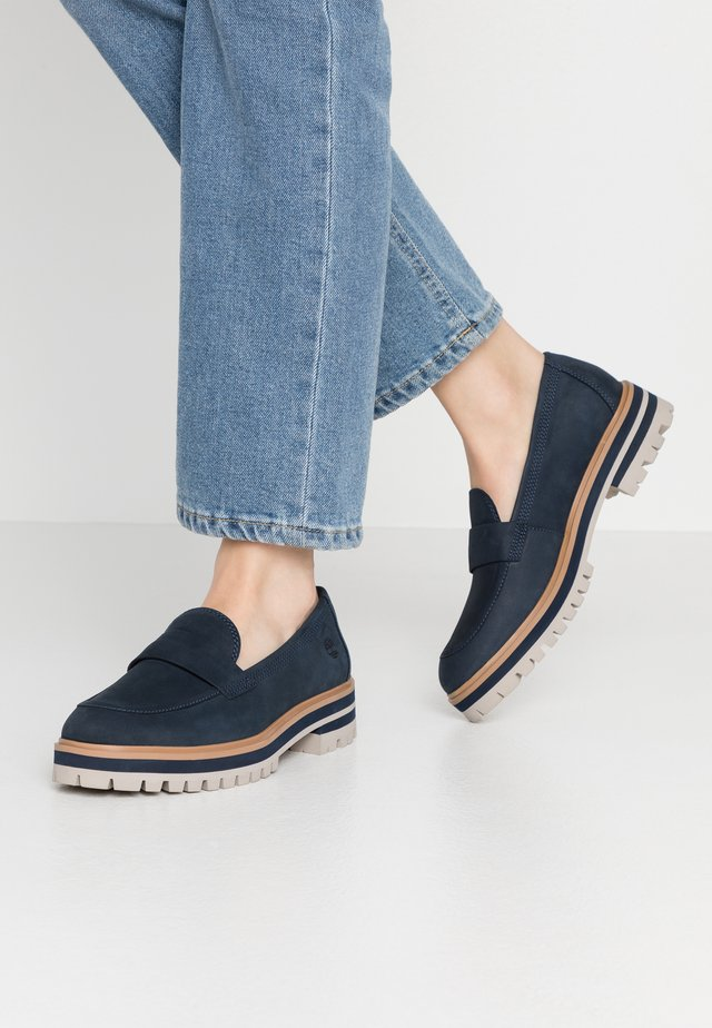 LONDON SQUARE  - Mocassins - navy