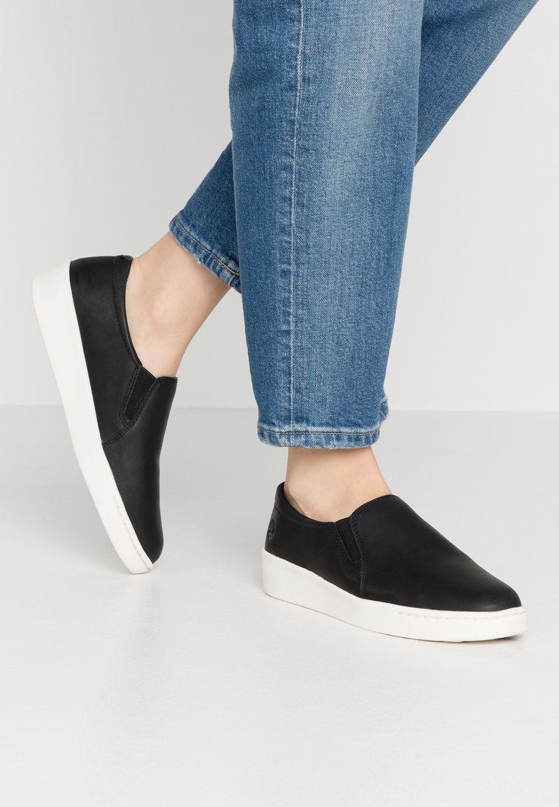 Timberland - TEYA GORE - Loaferit/pistokkaat - black