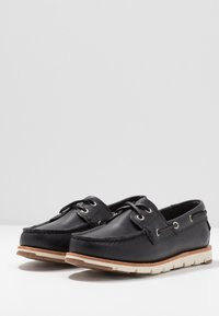 Timberland - CAMDEN FALLS - Chaussures bateau - navy full grain - 4