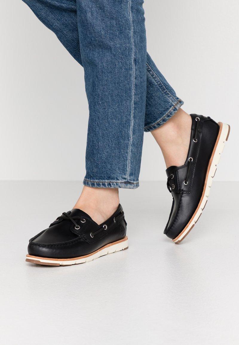 Timberland - CAMDEN FALLS - Chaussures bateau - navy full grain