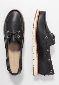 Timberland - CAMDEN FALLS - Chaussures bateau - navy full grain - 3