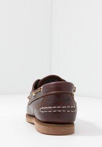 Timberland - CLASSIC BOAT 2-EYE - Bootsschuh - burgundy - 5
